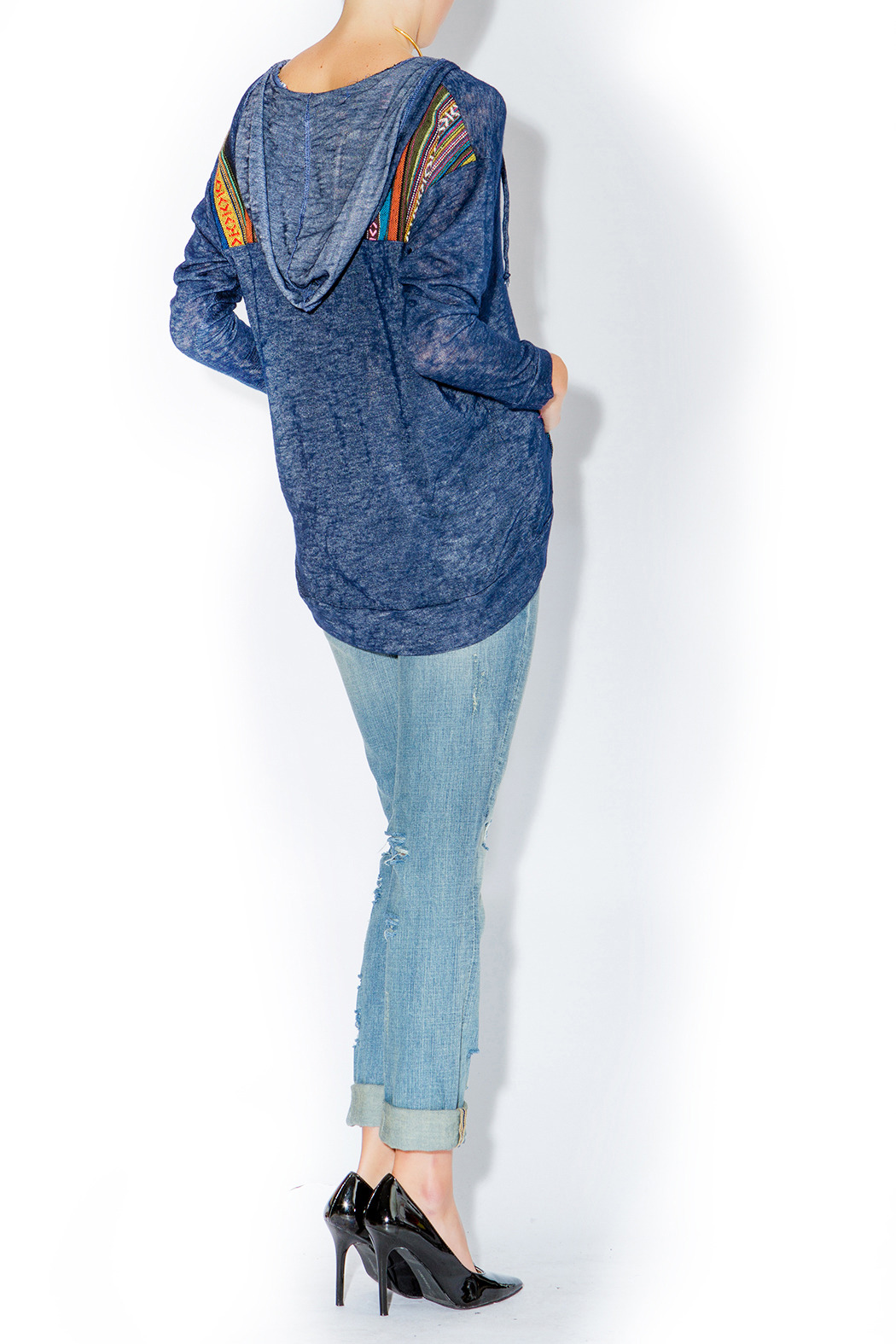 This is a heavy denim coat with hoodie attached to it. It is heavy enough to be worn as a winter coat. Very comfortable and in very good condition. Men's Casual Denim Fashion Hoodies Jean Hooded Sweatshirts Coat Jacket Outwear. $ Buy It Now. Free .