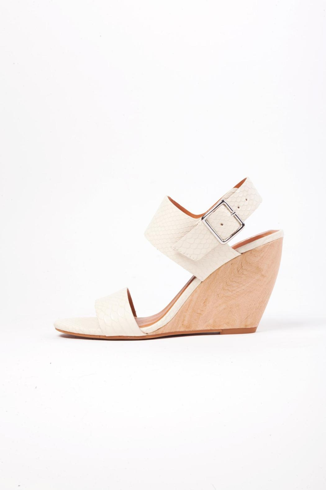 49f46ecfee1 BC Footwear Off-White Wedge Sandal from New Jersey by Wink Boutique ...
