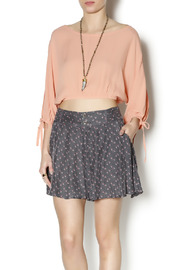 MinkPink Lucie Crop Blouse - Product Mini Image