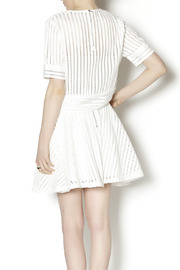 English Factory White Knit Two Piece - Back cropped