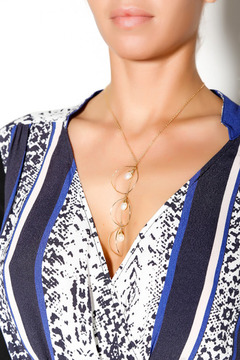 Shoptiques Product: Luna Gold Necklace
