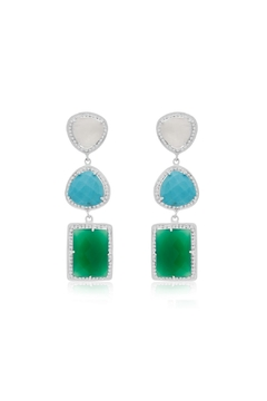 6th Borough Boutique 20ct Gabby Earrings - Product List Image