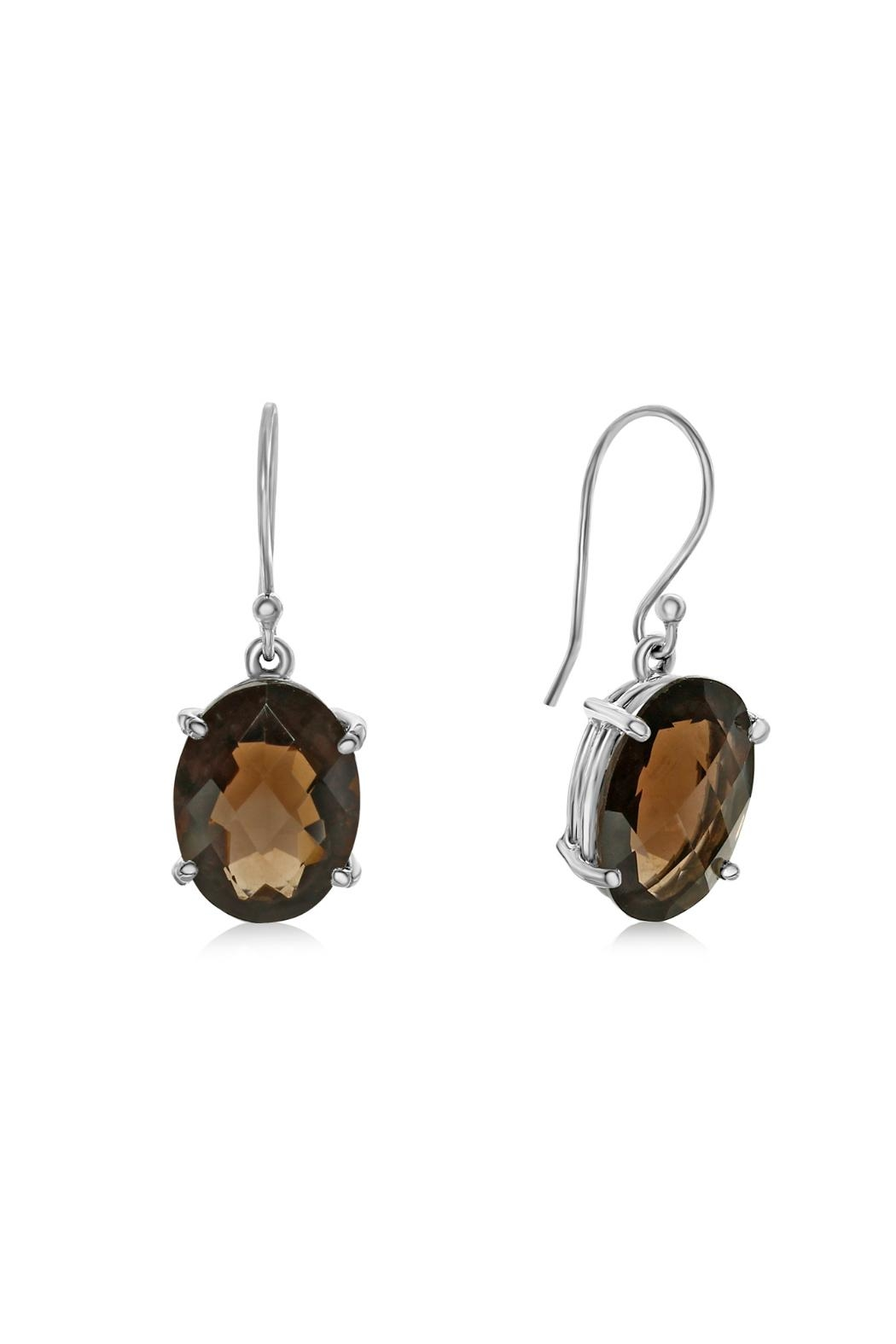 6th Borough Boutique Quartz Drops Earrings - Main Image