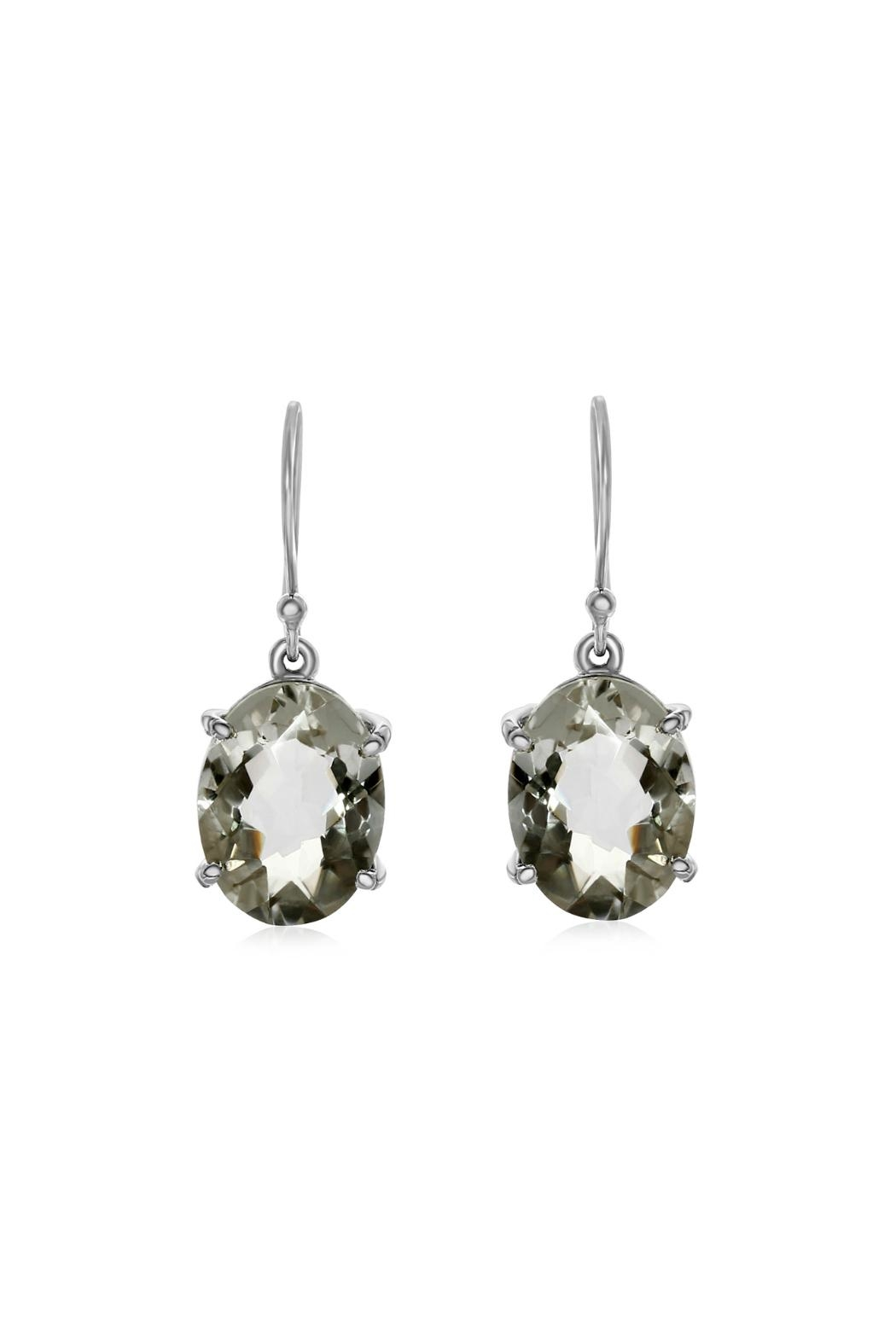 6th Borough Boutique Topaz Drop Earring - Front Full Image