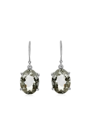 6th Borough Boutique Topaz Drop Earring - Front full body