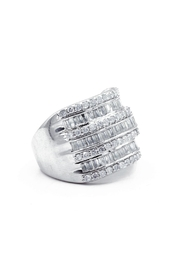 6th Borough Boutique 2ct Diamond Ring - Front full body