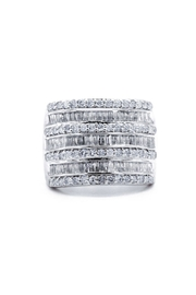 6th Borough Boutique 2ct Diamond Ring - Front cropped