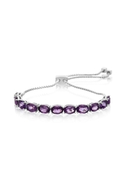 6th Borough Boutique Amethyst Whitney Bracelet - Product Mini Image