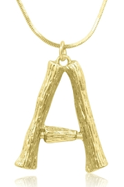 6th Borough Boutique Bamboo Initial Necklace - Product Mini Image