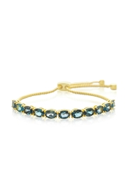 6th Borough Boutique Blue Topaz Bracelet - Product Mini Image