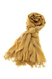 6th Borough Boutique Butterscotch Pashmina Scarf - Product Mini Image