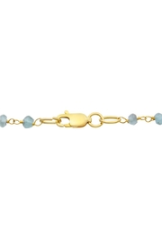 6th Borough Boutique Chalcedony Disc Necklace - Side cropped