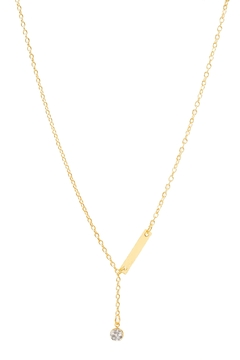 Shoptiques Product: Crystal Lariat Necklace