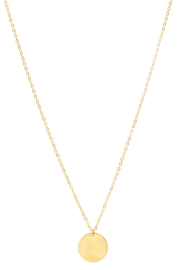 6th Borough Boutique Dainty Disc Necklace - Product Mini Image