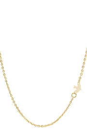 6th Borough Boutique Dainty Dove Necklace - Product Mini Image