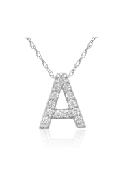 6th Borough Boutique Diamond Initial Necklace - Product Mini Image