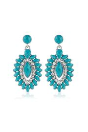 6th Borough Boutique Evil Eye Earrings - Product Mini Image