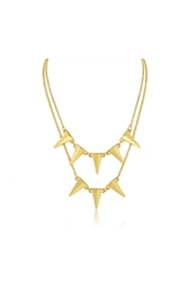 6th Borough Boutique Gold Eva Necklace - Product Mini Image