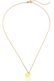 6th Borough Boutique Gold Love Necklace - Product Mini Image