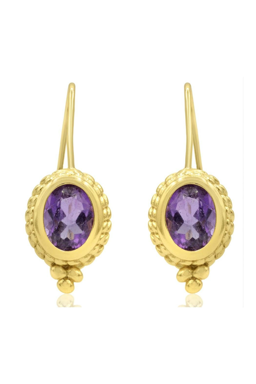 6th Borough Boutique Gold Ropework Earrings - Main Image