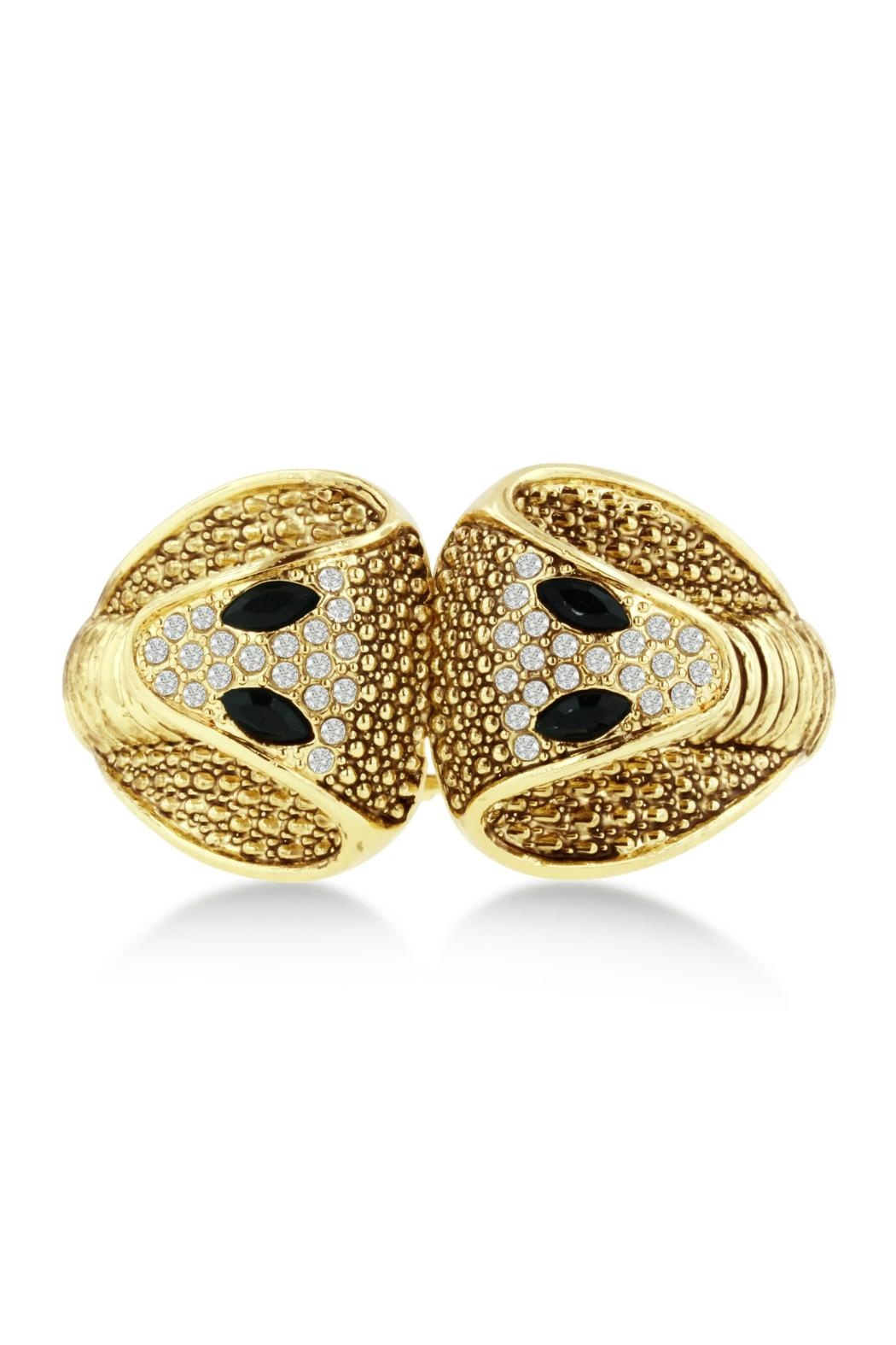 6th Borough Boutique Gold Snake Cuff - Main Image