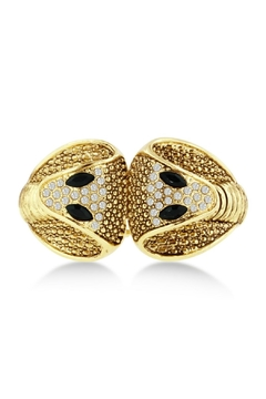 6th Borough Boutique Gold Snake Cuff - Product List Image