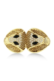 6th Borough Boutique Gold Snake Cuff - Front cropped