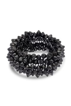 6th Borough Boutique Gunmetal Spike Bracelet - Product List Image