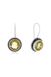 6th Borough Boutique Lemon Fish Hook Earrings - Product Mini Image