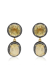 6th Borough Boutique Lemon Gia Earrings - Front full body