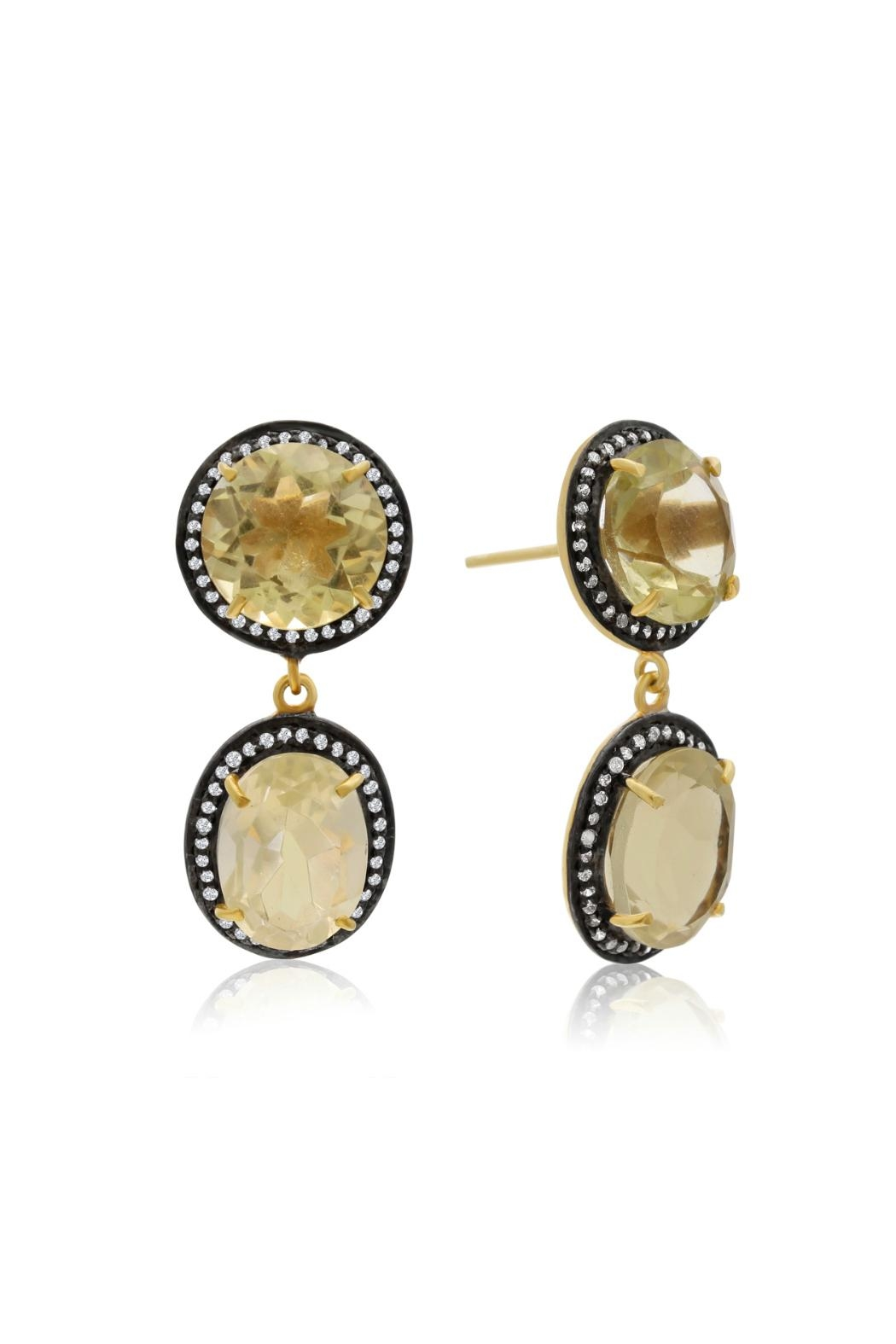 6th Borough Boutique Lemon Gia Earrings - Main Image
