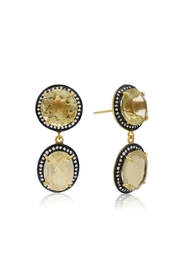 6th Borough Boutique Lemon Gia Earrings - Product Mini Image