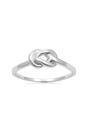 6th Borough Boutique Love Knot Ring - Front cropped