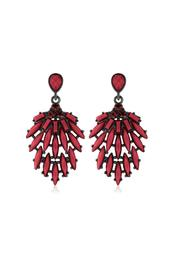 6th Borough Boutique Marsala Drop Earrings - Product Mini Image