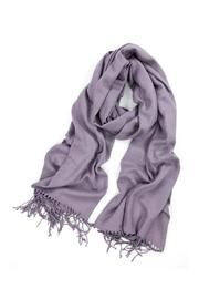 6th Borough Boutique Mauve Pashmina Scarf - Product Mini Image
