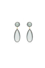 6th Borough Boutique Mint Tina Earrings - Product Mini Image