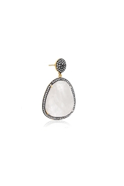 6th Borough Boutique Moonstone Gemma Earrings - Side cropped