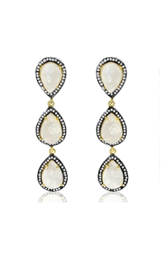 6th Borough Boutique Moonstone Kyle Earrings - Product List Image
