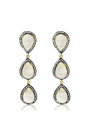 6th Borough Boutique Moonstone Kyle Earrings - Front cropped