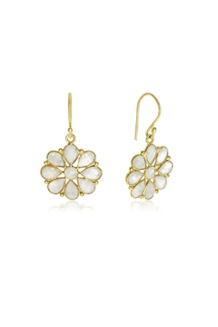 6th Borough Boutique Moonstone Summer Earrings - Product List Image