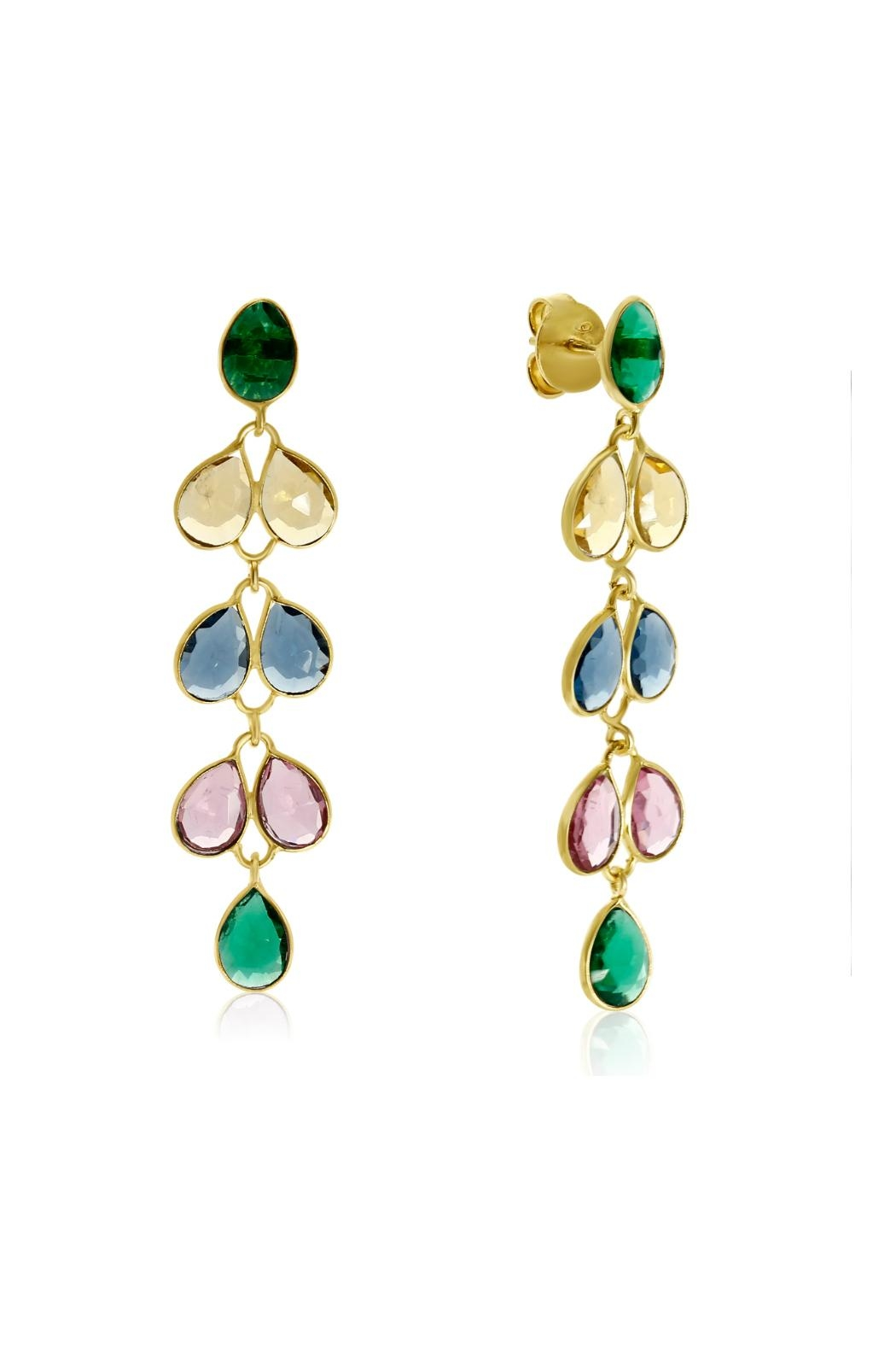 6th Borough Boutique Multi Maddie Earrings - Main Image