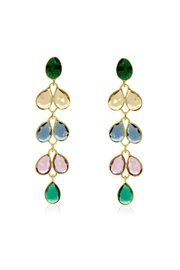 6th Borough Boutique Multi Maddie Earrings - Front full body