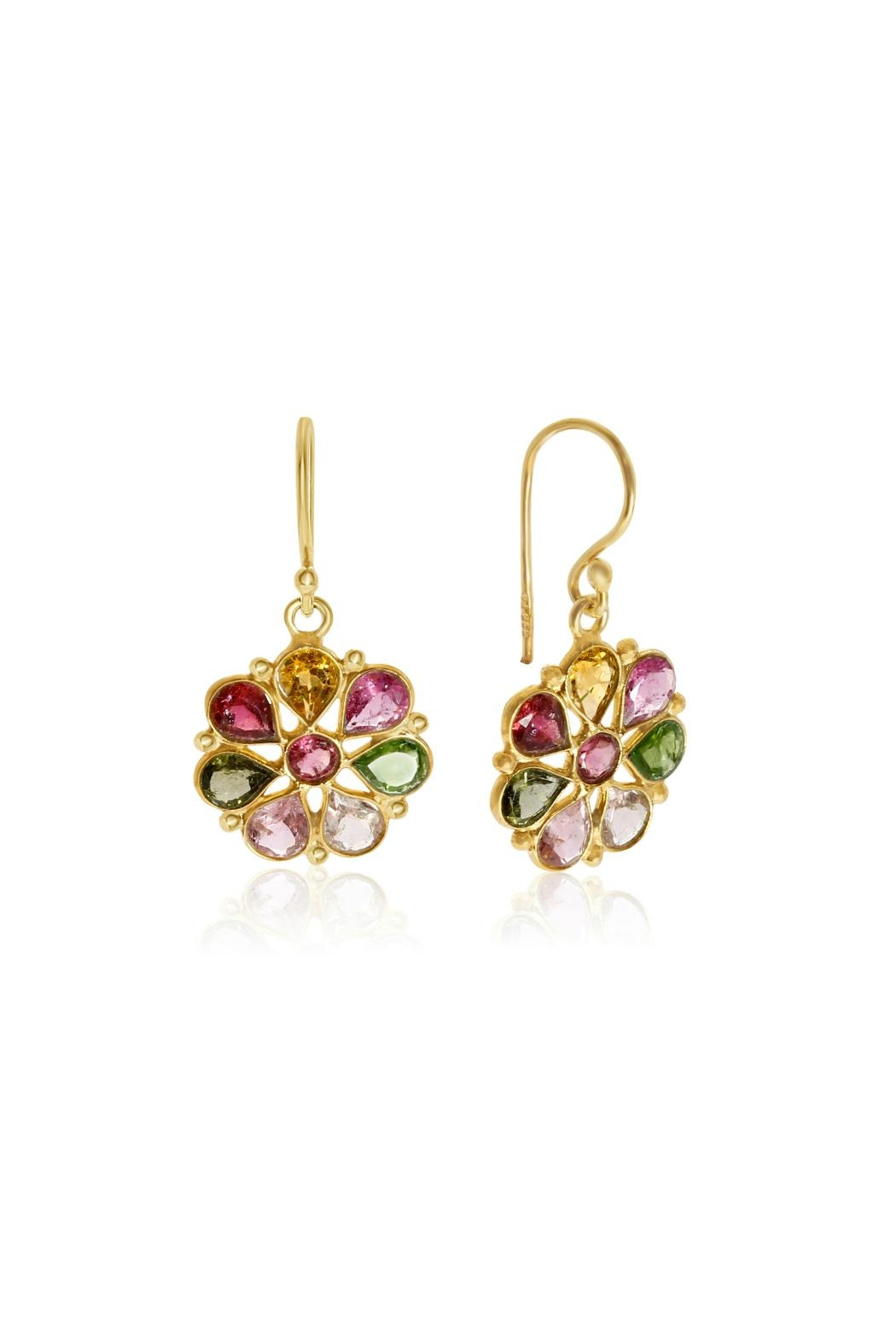 6th Borough Boutique Multi Summer Earrings - Main Image