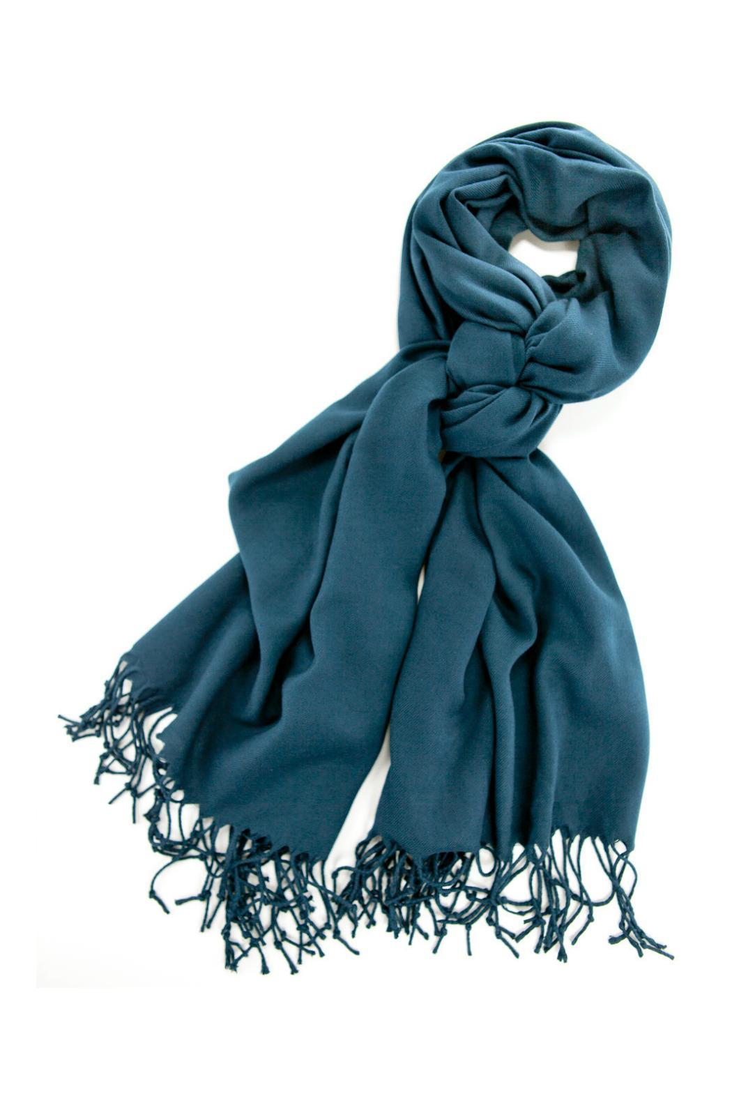 6th Borough Boutique Ocean Pashmina Scarf - Main Image