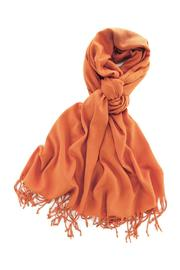 6th Borough Boutique Orange Pashmina Scarf - Product Mini Image