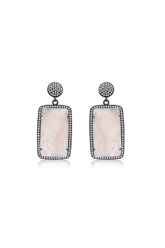 6th Borough Boutique Pearl Lana Earrings - Product List Image