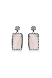 6th Borough Boutique Pearl Lana Earrings - Product Mini Image