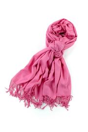 6th Borough Boutique Pink Pashmina Scarf - Product Mini Image