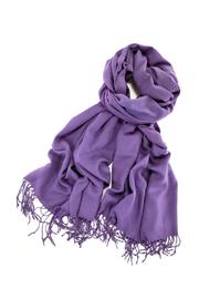 6th Borough Boutique Plum Pashmina Scarf - Product Mini Image