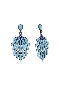 6th Borough Boutique Powder Blue Earrings - Alternate List Image